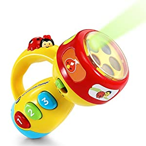 515c1FH5HAL. SS300  - VTech Spin and Learn Color Flashlight, Yellow