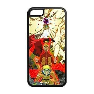 SUUER The Hot Japanese Anime Naruto Uzumaki Protective Custom Hard CASE for iPhone 5 5s Durable Case Cover