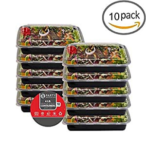 Amazon.com: Party Bargains One Compartment Plastic Food