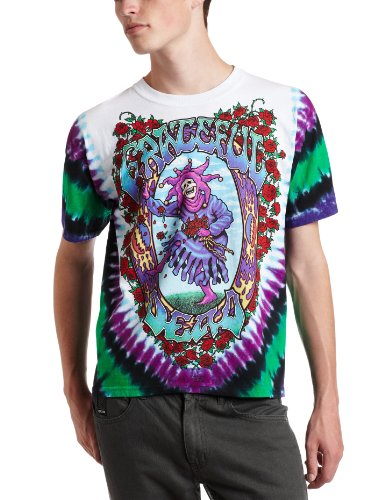 Liquid Blue Men's Grateful Dead Seasons of The Dead Tie Dye T-Shirt, Multi, X-Large ()