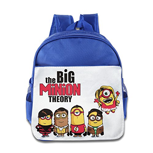 [JXMD Custom Personalized The Big Yellow Theory Kids Children School Bagpack Bag For 1-6 Years Old] (Flash Drive Costume)