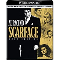 Scarface (1983) Gold Edition (4K UHD + Blu-ray + Digital)