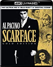 Scarface GOLD EDITION (1983) [4K ULTRA + Blu-ray +DIGITAL CODE]