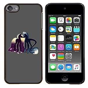 "Be-Star Único Patrón Plástico Duro Fundas Cover Cubre Hard Case Cover Para iPod Touch 6 ( Pony Amor del caballo cuento de hadas Sueños Arte Simbólico"" )"