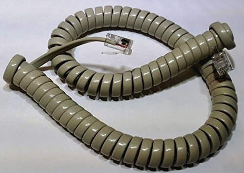 Lot of 10 Ash 9' Ft Handset Phone Cords for Nortel Norstar Meridian M Series M7100 M7208 M7310 M7324 M2000 M2006 M2008 M2112 M2216 M2317 M2616 Centrex M5000 M5008 M5009 M5216 M5316 by DIY-BizPhones by DIY-BizPhones