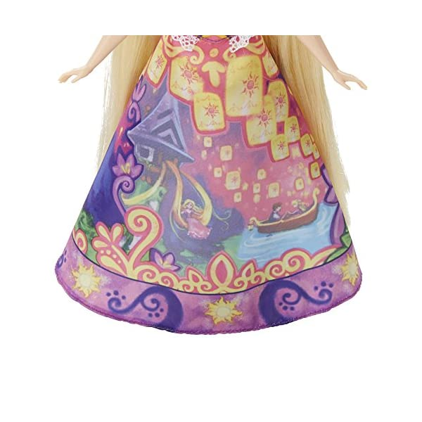515c3tR97HL Disney Princess Rapunzel's Magical Story Skirt
