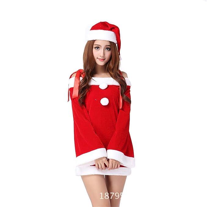 MAIMOMO Ropa De Dormir para Mujer Ropa Interior Erótica Disfraces De Navidad Navidad Disfraces De Navidad