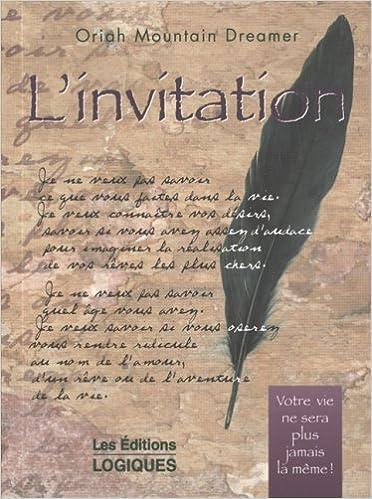 L Invitation Oriah Mountain Dreamer Johanne Forget 9782893816838