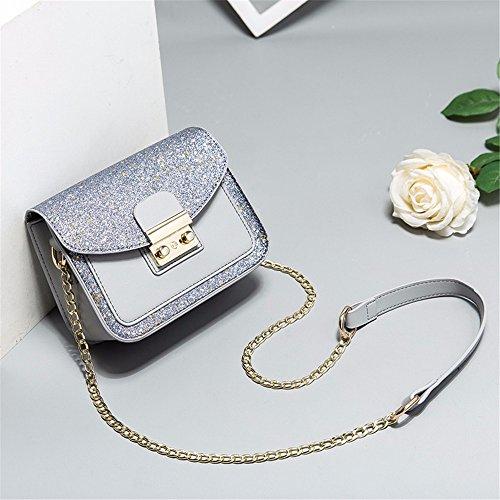 Gray MSZYZ chaîne sac épaule nouveau Sac oblique seule sac Femme cadeaux de r4rqPzw