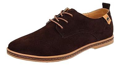 aab9494d6c LILI Shop Herren Business Casual Schuhe Wildleder Schuhe: Amazon.de ...