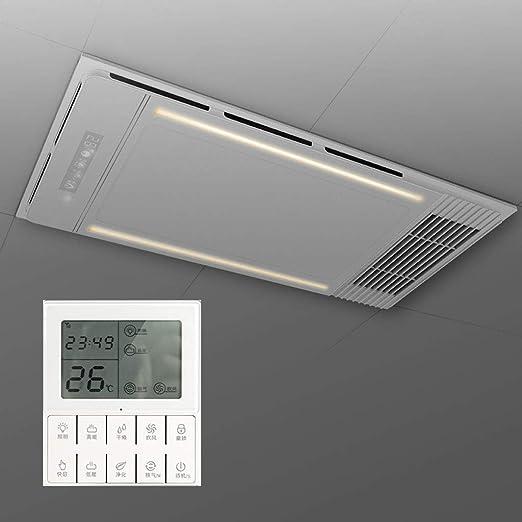 Bathroom Heater Xinjin Calentador 4 en 1 para baño, iluminación ...