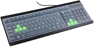 Jiacheng29 Universal Silikon Desktop Computer Tastatur Staubschutz Schutzfolie Schutzfolie Cover