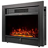 "YODOLLA 28.5"" Electric Fireplace Insert with 3"