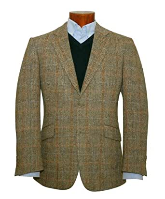 Harris Tweed Hamish Wool Jacket at Amazon Men&39s Clothing store