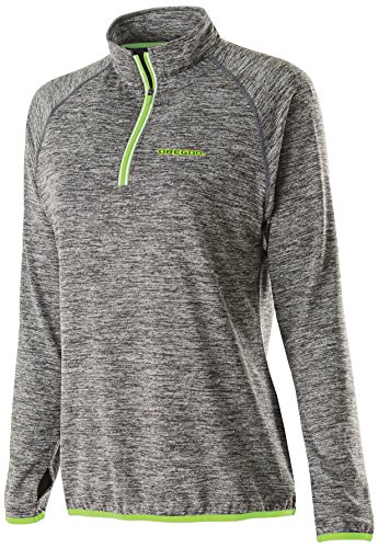(Ouray Sportswear NCAA Oregon Ducks Women's Force Training Top, Large, Carbon Heather/Lime )