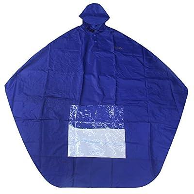niceEshop(TM) Scooter Rain Poncho, Full Coverage Waterproof Rain Coat