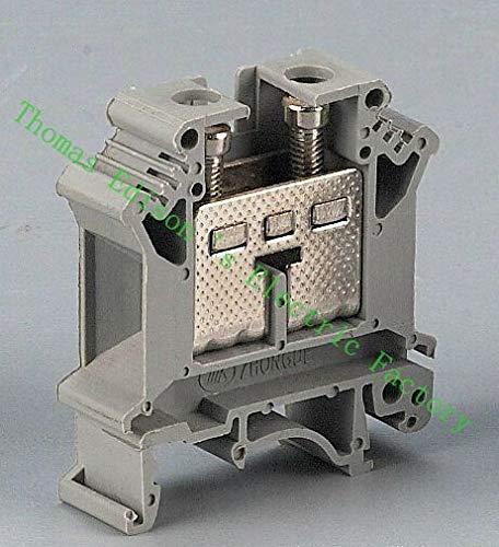 Davitu UK-16N UK Series Universal Terminal Block Terminal Connector/Cable Connector/Wire Connector/Splice 100PCS/Pack