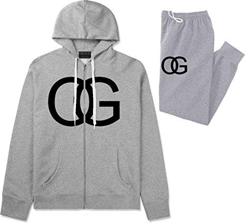 Grey Hooded Sweat - 8