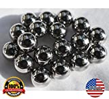25 Multi-Use Magnetic Balls 7/32'' Round Sphere Magnets
