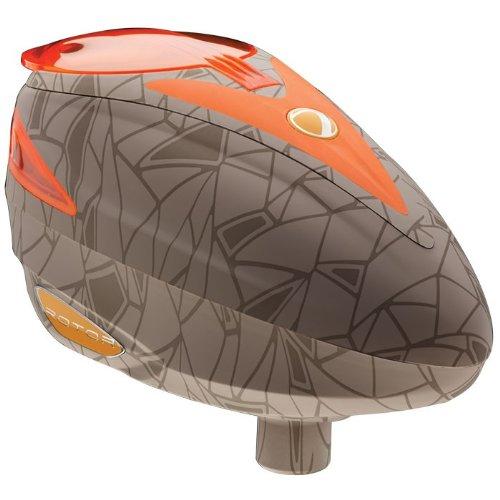 Dye Rotor Electronic Paintball Loader - UL Dust Orange