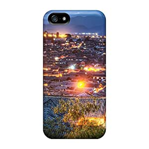 Hot YmsrPUU7843nJvYs Case Cover Protector For Iphone 5/5s- Spectacular Village Of Lijiang China At Night Hdr