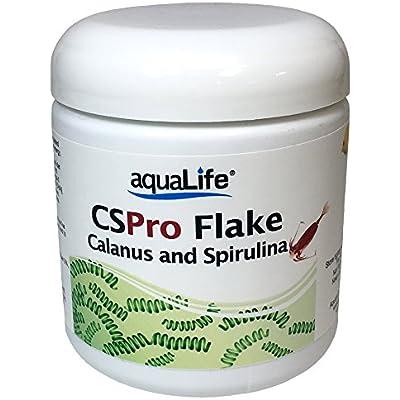 Aquarium Life Support Systems CS Pro Flake Calanus & Spirulina Food 1oz