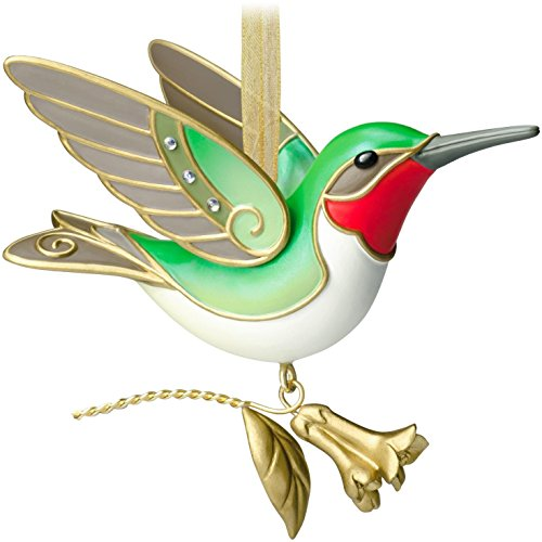 2014 Hallmark Ornament Hummingbird 10th In Series