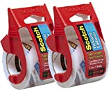 package clear tape - Scotch Heavy Duty Shipping Packaging Tape, 1.88 Inch x 800 Inch, Clear