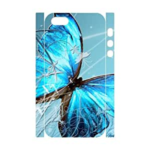 D-PAFD Cell phone Protection Cover 3D Case Butterfly For Iphone 5,5S