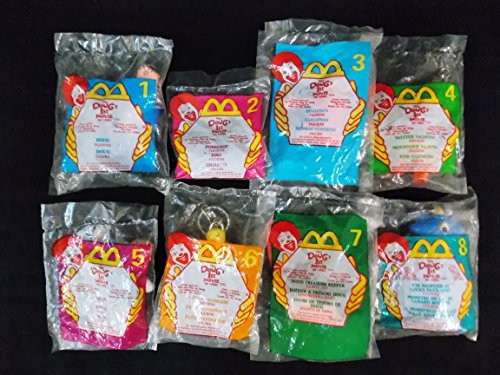 Mcdonalds Disney Video - MCDONALDS HAPPY MEAL DISNEY DOUG'S 1ST MOVIE ON VIDEO COMPLETE SET OF 8, 1999