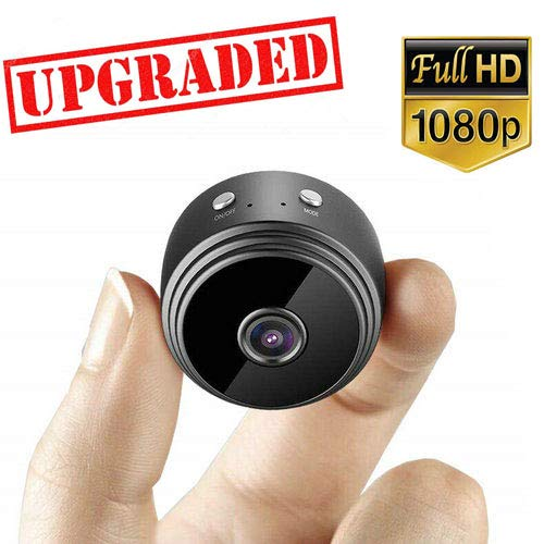 Hidden Camera WiFi HD 1080P Nanny Cam Spy Camera Baby Monitor Indoor Security with Night Vision and Motion Detection Alert