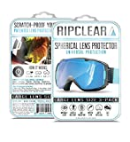 Ripclear Spherical Lens Protector 3X Pack Lg Frame / x3 Spherical Lens Ripclear