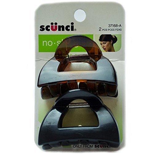 Scunci No Slip Clutch Jaw Clip 2 ea (Pack of 5)