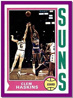 1974-75 Topps #62 Clem Haskins PHOENIX SUNS Vintage (nrmt) WESTERN KENTUCKY