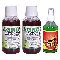 Agro Plus AM003_2 Pesticide - Set of 2 + Free (No Ant Liquid Control 100 ml)