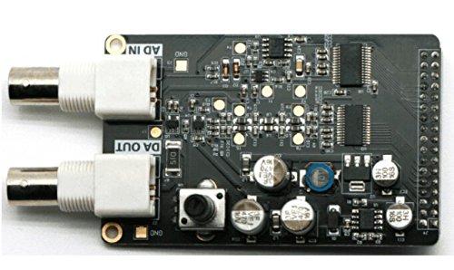 Diybigworld 1PCS High Speed AD/DA Module Matching FPGA Black Gold Development Board