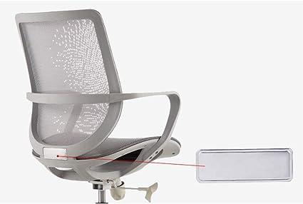 Chaise De Bureau Pour Le Personnel Informatique Chaise De Travail Pour Etude Chaise Pivotante Pour Le Dos Confortable A La Maison Chaise Simple Et Elegante En Mesh Grey Amazon Fr Cuisine Maison