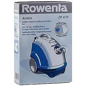 1 caja de 6 bolsas de microfibra para aspirador Rowenta RO220: Amazon.es: Hogar