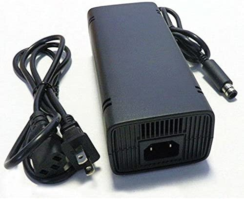 AKDSteel WantMall AC Power Adapter Charger for Xbox 360 E Game Console-US Plug-Black for CE Accessories