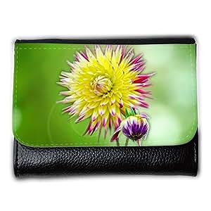 le portefeuille de grands luxe femmes avec beaucoup de compartiments // M00153894 Flor Flores Decoración Naturaleza // Medium Size Wallet
