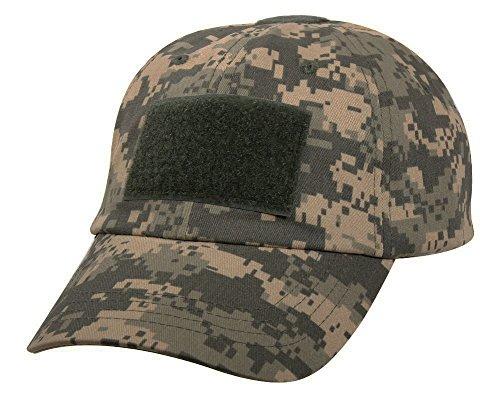Camo Driver Hat (Rothco ACU Digital Camo Operator Tactical Patch Baseball Cap Hat)