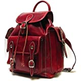 Roma Backpack Color: Tuscan Red, Bags Central