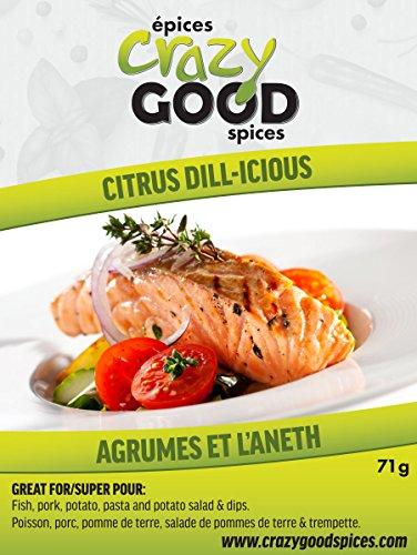 Crazy Good Spices & Rubs (Citrus Dill-icious Spice Rub) 2.5 oz -