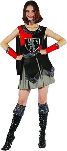 Disfraz caballero medieval mujer - M: Amazon.es: Juguetes y juegos