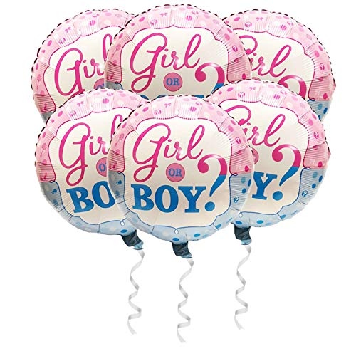 Girl or Boy Balloon Gender Reveal Party Supplies