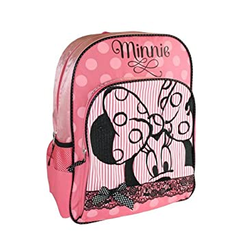 e0c64ac5d3f Sambro Minnie Mouse School Backpack (Large)  Amazon.co.uk  Toys   Games