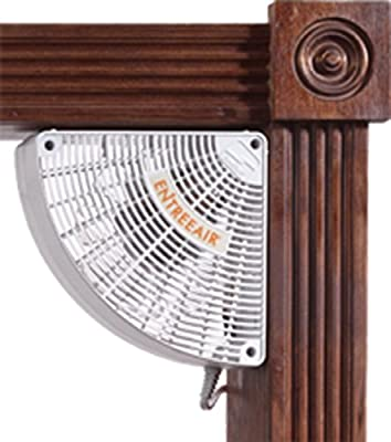 Suncourt EntreeAir Door Frame Fan