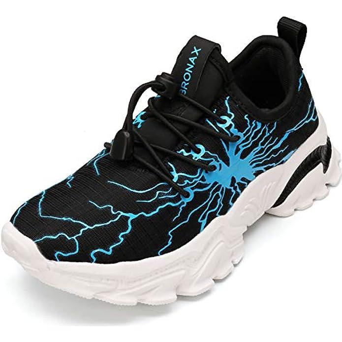 BRONAX Little/Big Kids Lightweight Athletic Tennis Shoes