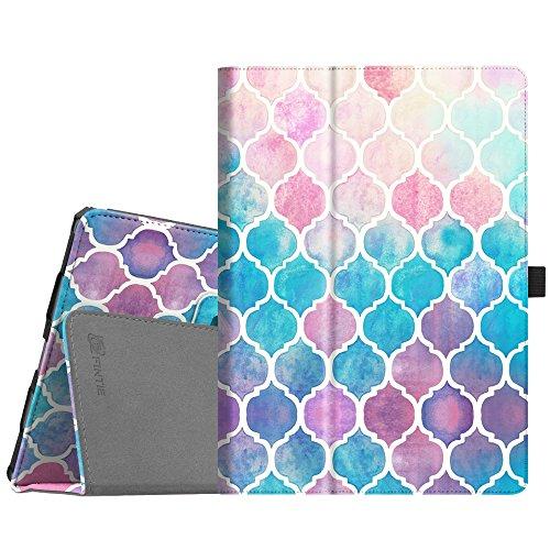 Fintie iPad Pro 10.5 Case - [Corner Protection] Premium PU Leather Smart Folio Cover with Auto Sleep/Wake Feature for Apple iPad Pro 10.5 Inch 2017 Release, Moroccan Love