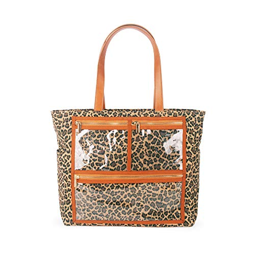- Canvas Display Bag Essential Oils Carrying Handbag tote for Direct Sales(Leopard)